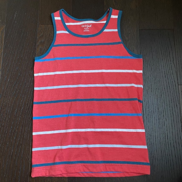 Cat & Jack Striped Tank Top - Medium